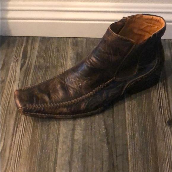 bf2b7e7a9ed Steve Madden zip ankle boots for men. M 5b898d307c979d0dfa9af027
